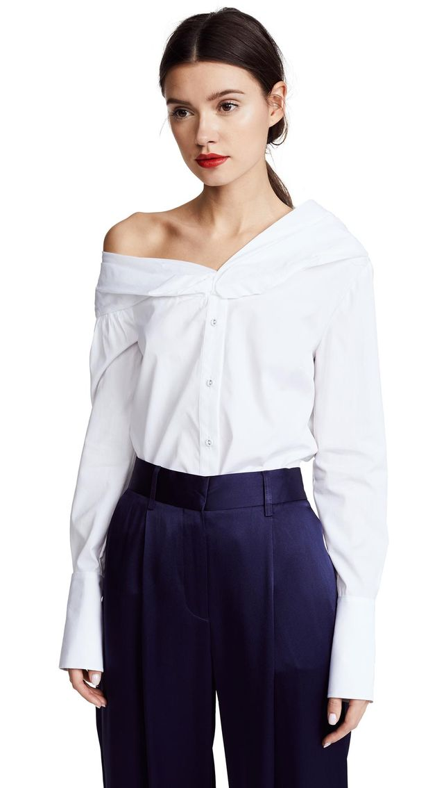 One Shoulder Shirt