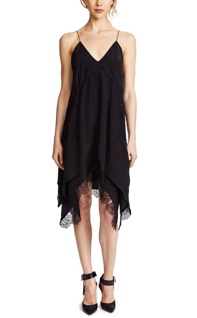 Hargan Lace Slip Dress