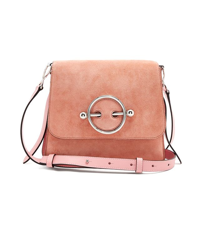 J.W.Anderson Disc Small Leather Crossbody Bag