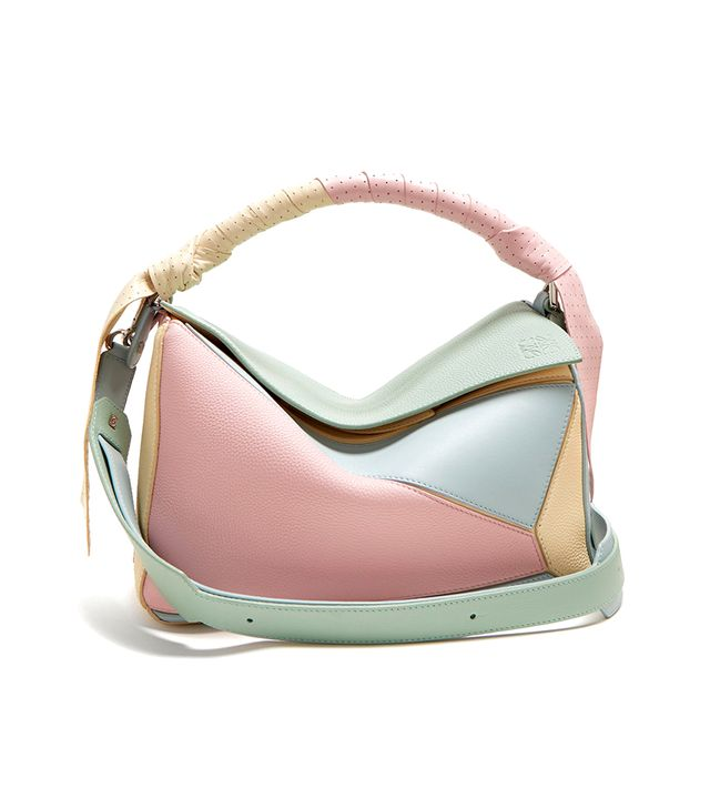 Loewe Puzzle Wrap-Handle Leather Bag