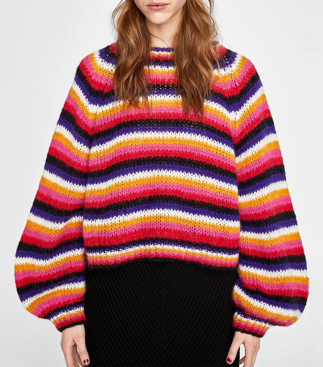 Zara Multicolored Sweater