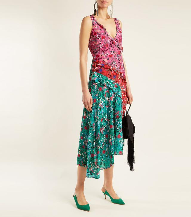 Aggie meadow ruffle dress