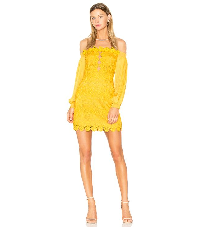 Gardenia Dress in Yellow. - size US 6/ UK 10 (also in US 4/ UK 8)