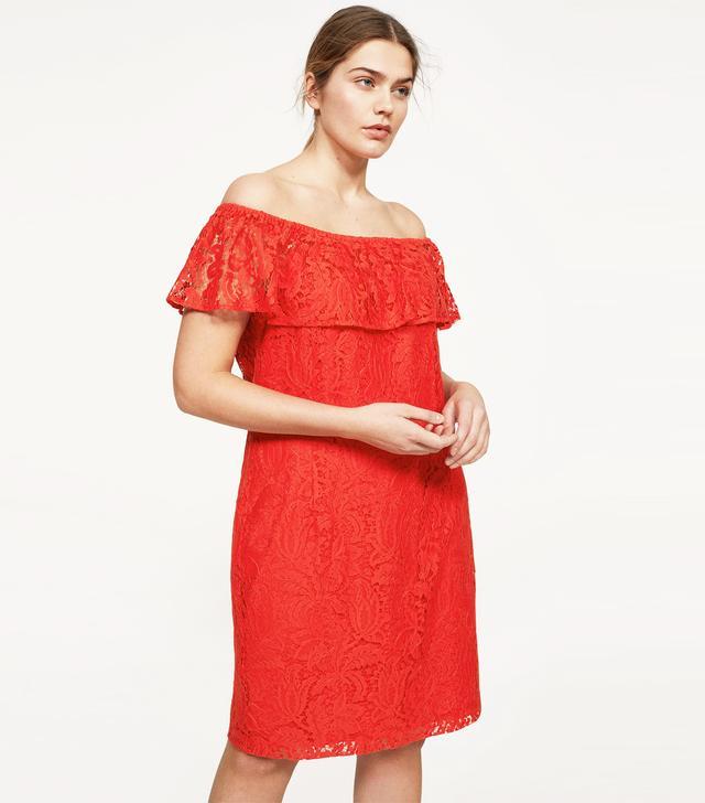 Violeta Lace Off-Shoulder Dress