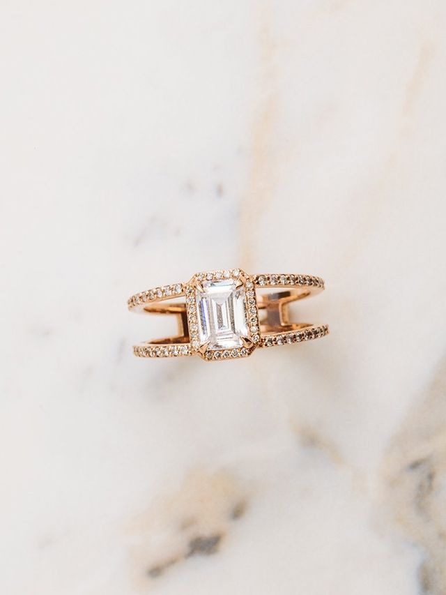 Après Jewellery The Beatrix Ring in Emerald Cut