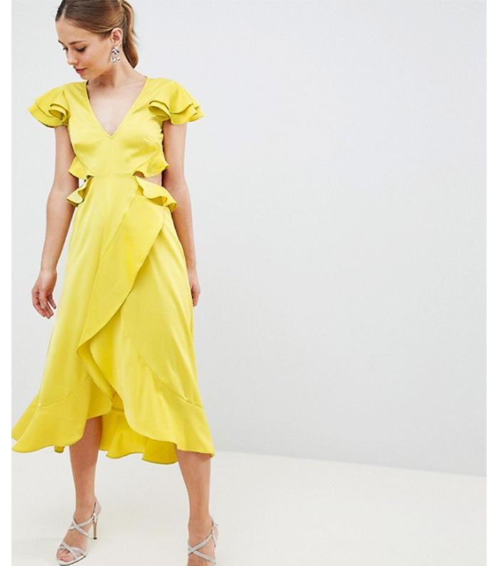 Best Yellow Dresses 21 We Rate Who What Wear Uk