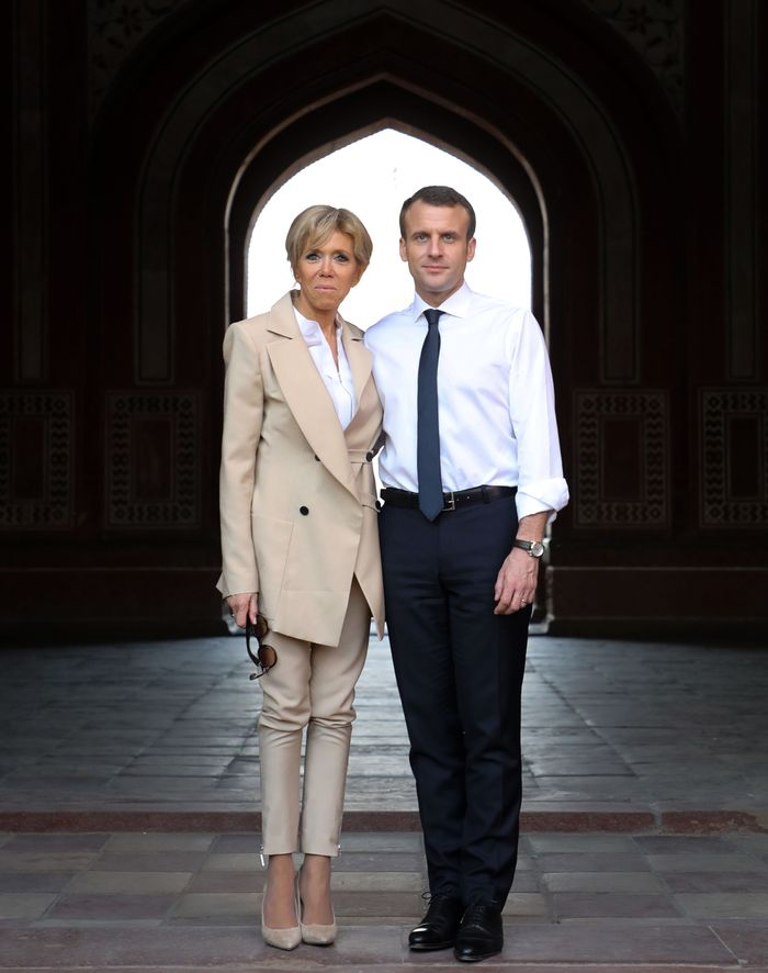 First Lady Of France Brigitte Macron Visits India Who