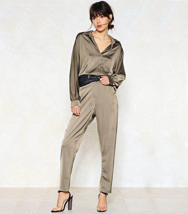 Nasty Gal An Overall Success Utility Jumpsuit
