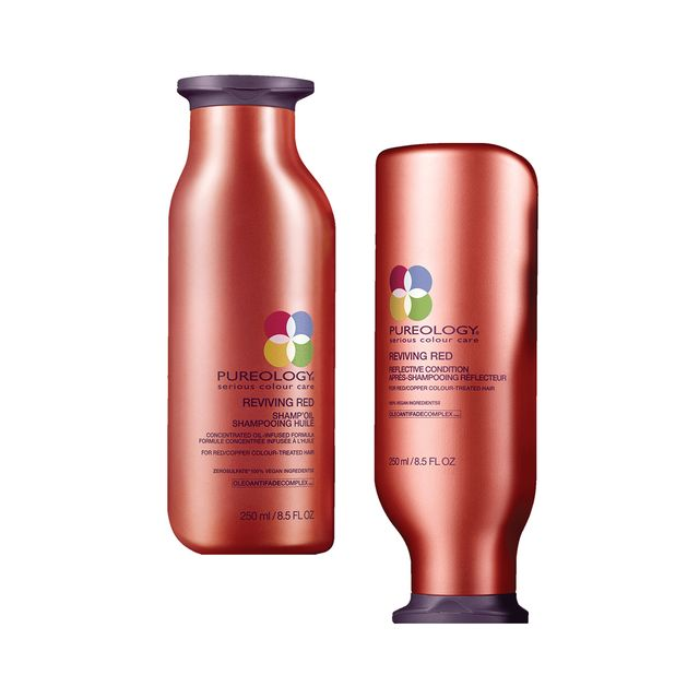 Pureology Reviving Red Shampoo and Conditioner