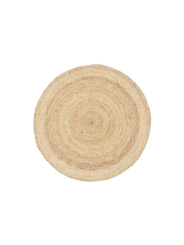 Network Rugs Round Jute Natural Rug