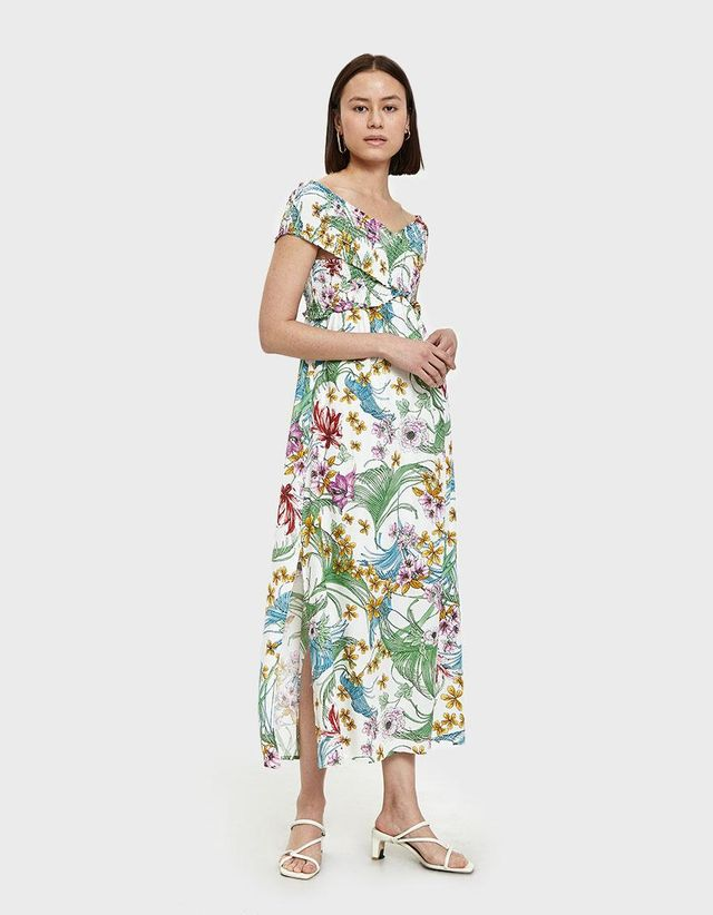 Pina Maxi Dress in Tropical