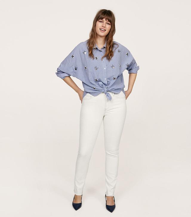 Violeta by Mango Slim Fit Push Up Mariah Jeans