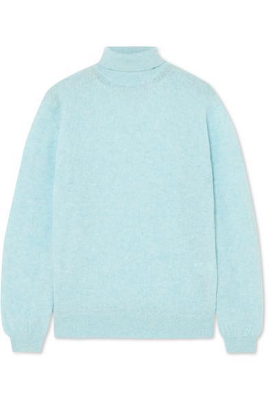 Julie Cashmere Turtleneck Sweater