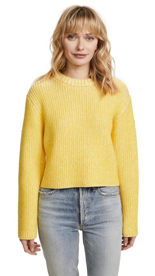 Melange Rib Sweater