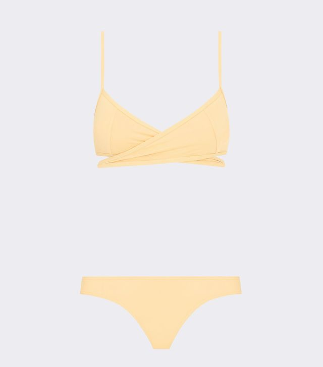 Her Line Rei Two-Piece Set Butter Yellow