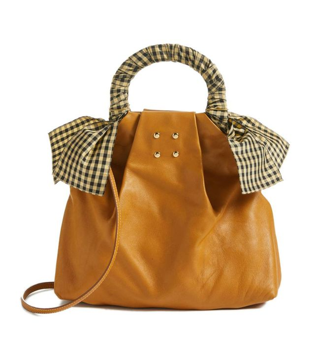 Trademark Hazel Leather Shopper