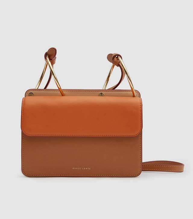 Mia Bag in Brown/Orange