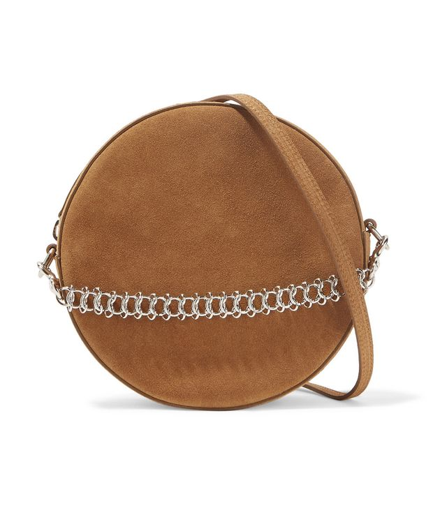 Tambourine Suede Shoulder Bag
