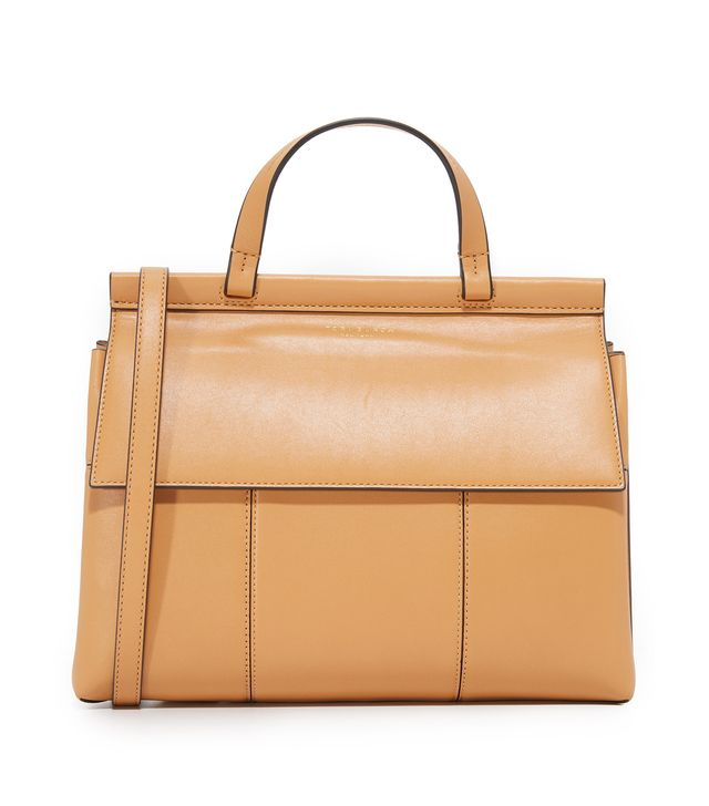Block T Top Handle Satchel