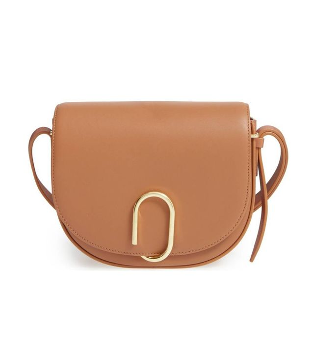 Alix Leather Saddle Bag