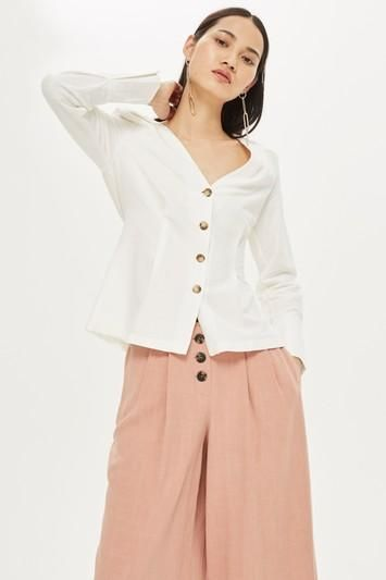 Button Down Blouse