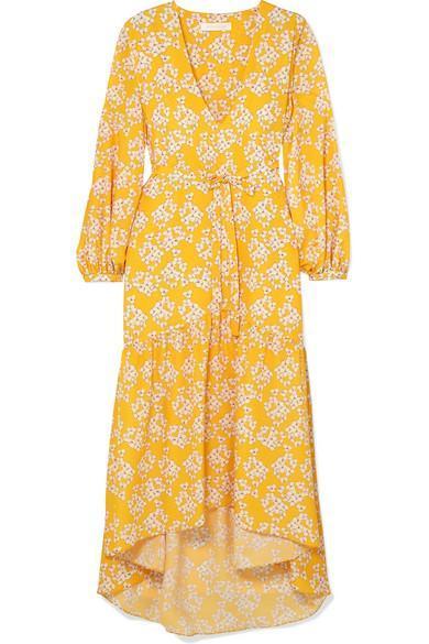 Beatrice Floral-print Crepe Maxi Dress