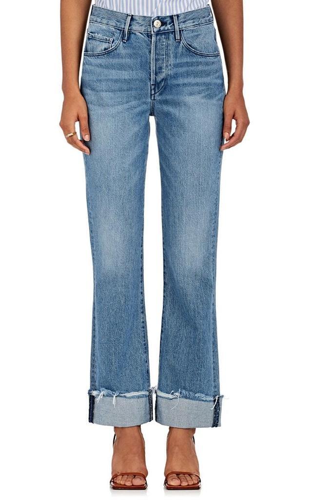 Women's W4 Shelter Flare Crop Jeans