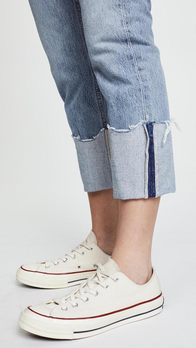 Cherie High Rise Cuffed Jeans