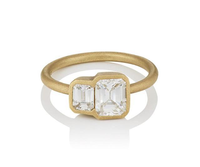 Tate Union White Diamond Ring