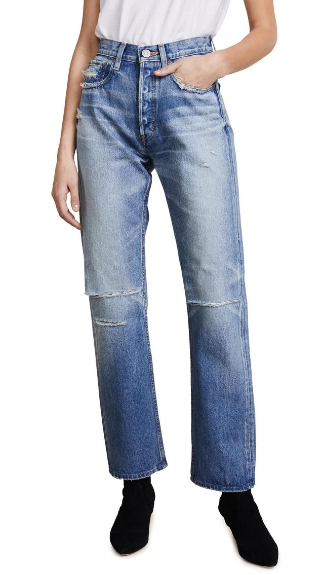MV Olin Wide Leg Jeans