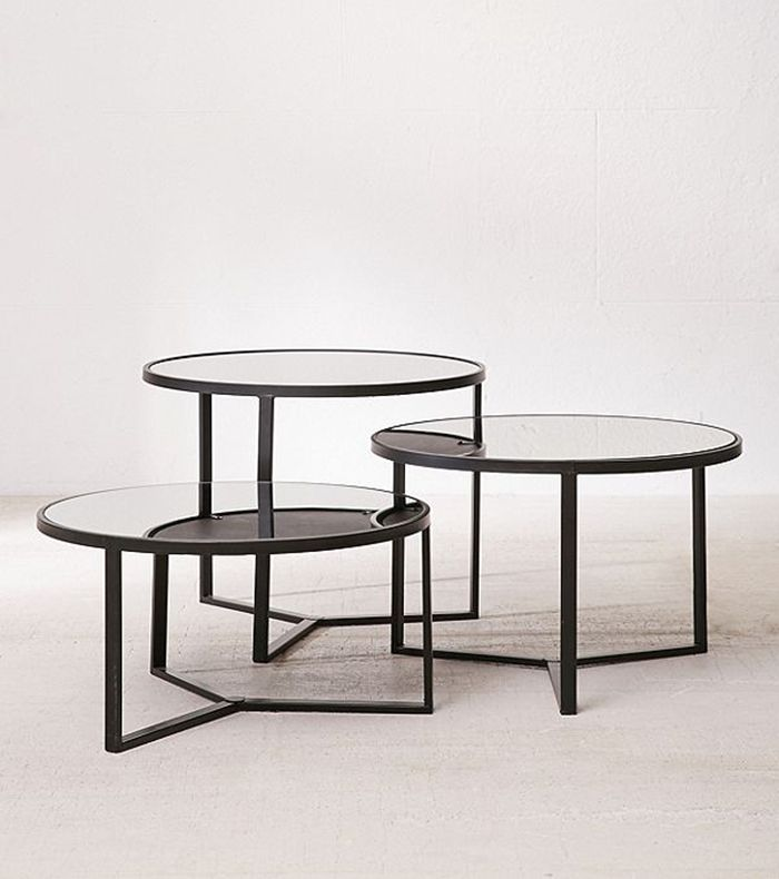 Etonnant Pinterest Shop · Urban Outfitters Elliot Mirrored Coffee Table ...