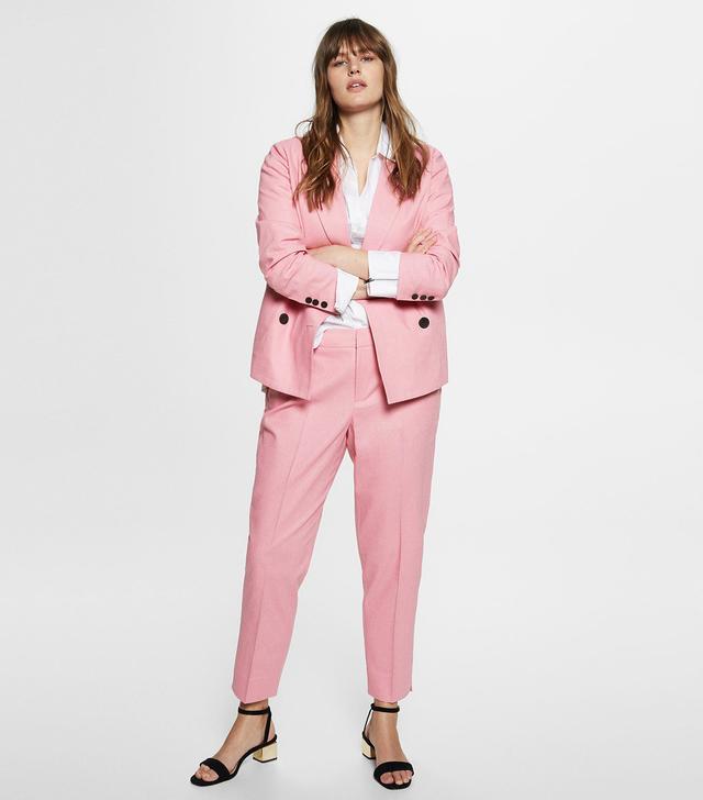Violeta Linen Suit Trousers