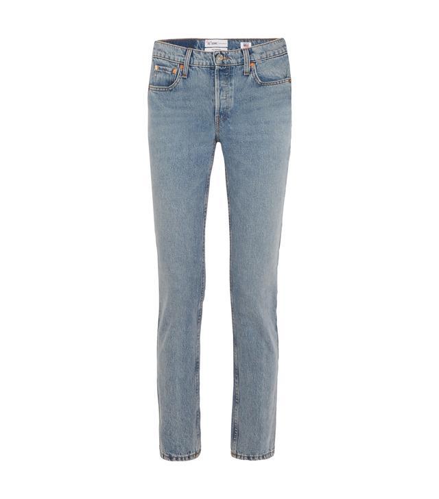 Cindy Crawford The Crawford High-Rise Straight-Leg Jeans