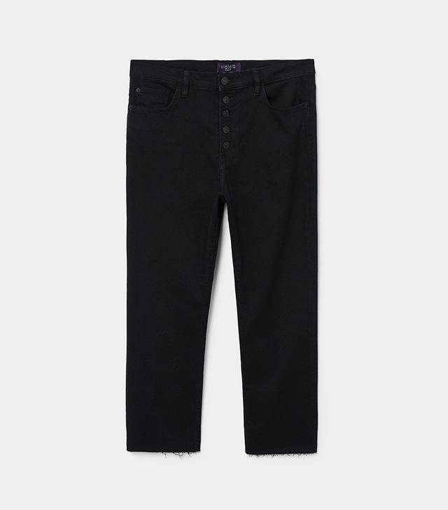 Violeta by Mango Jandri Boot Cropped Jeans