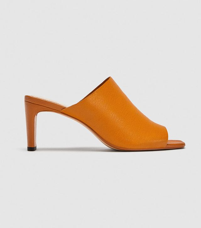 Zara Soft Leather Mules