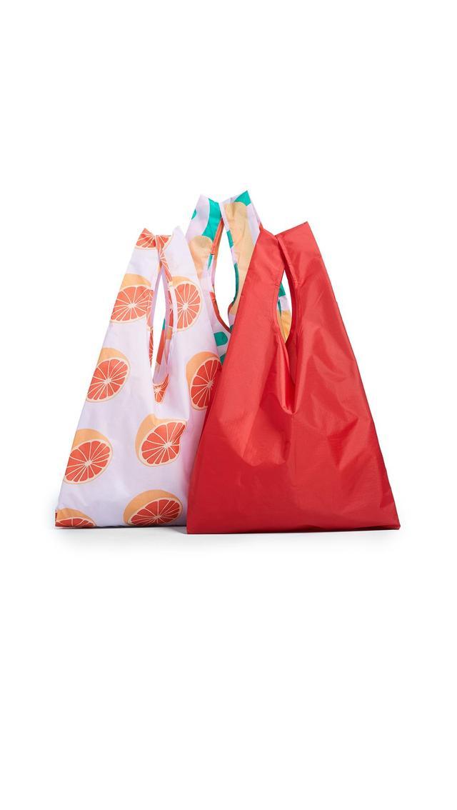 Standard Packable Bag Triple Set