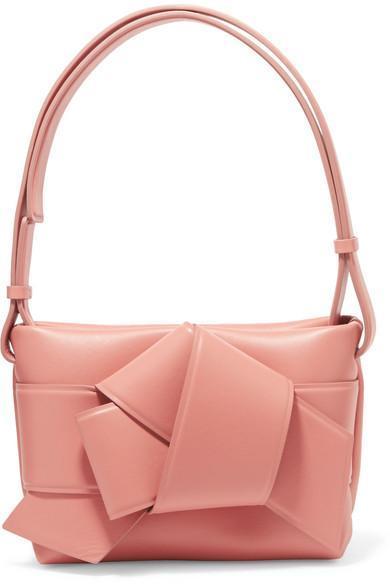 Musubi Knotted Leather Shoulder Bag