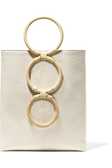 Petra Mini Textured-leather Tote