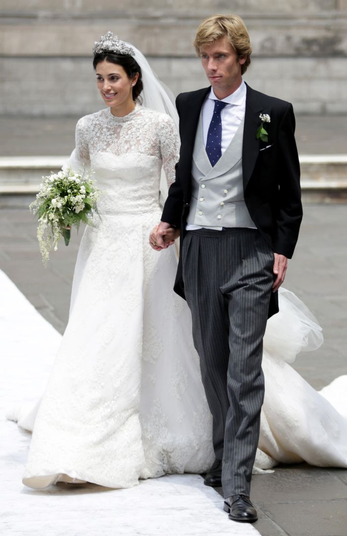 Kate Moss Attended Prince Christian Of Hanover S Wedding Who What Wear