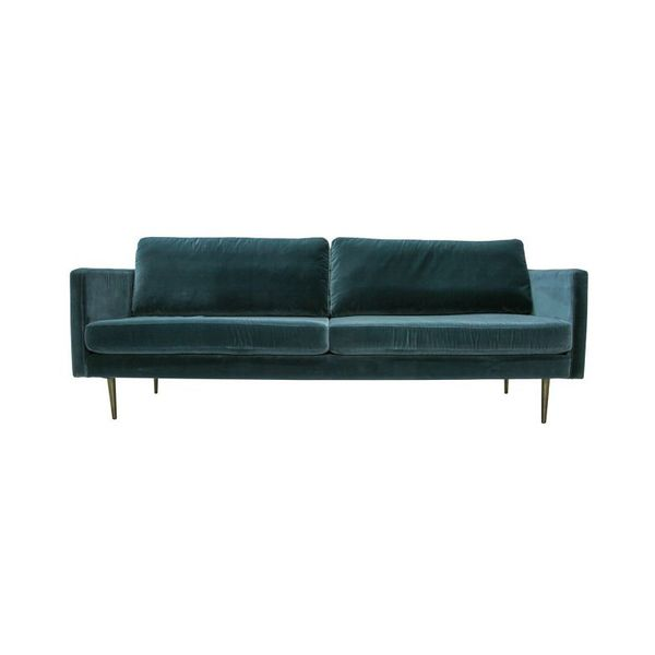 Matt Blatt Velvet Sofa