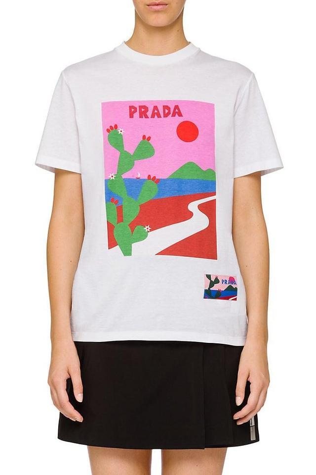 Women's Graphic Cotton T-Shirt