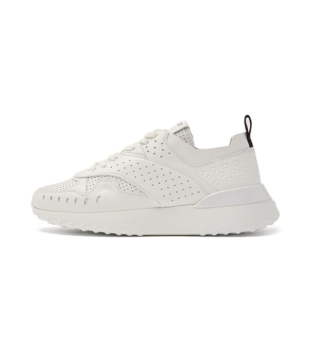 Tod's Sporty Leather Low-Top Trainers