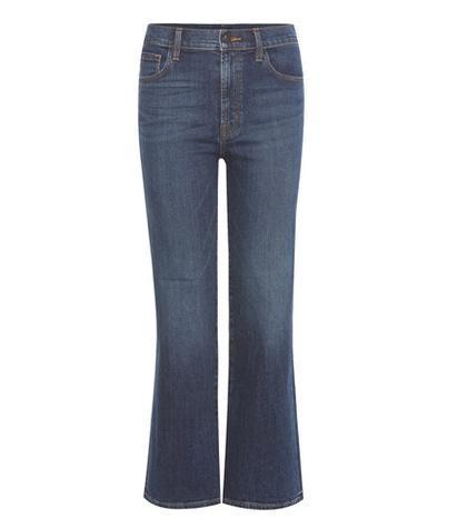 Carolina high-rise flared jeans