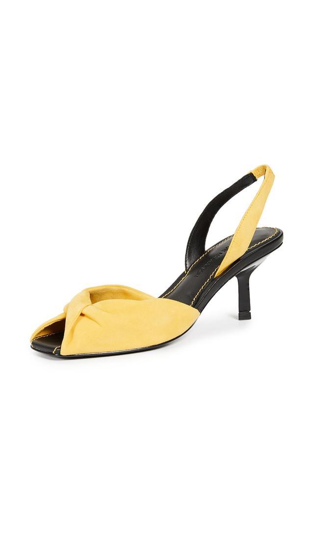 Jana Slingback Kitten Heels