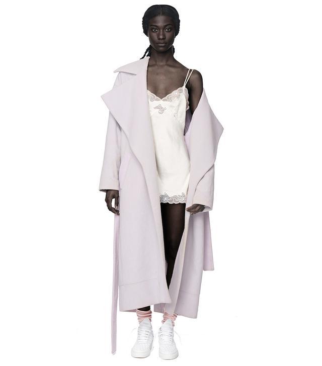 Omondi Fog Lavender Coat
