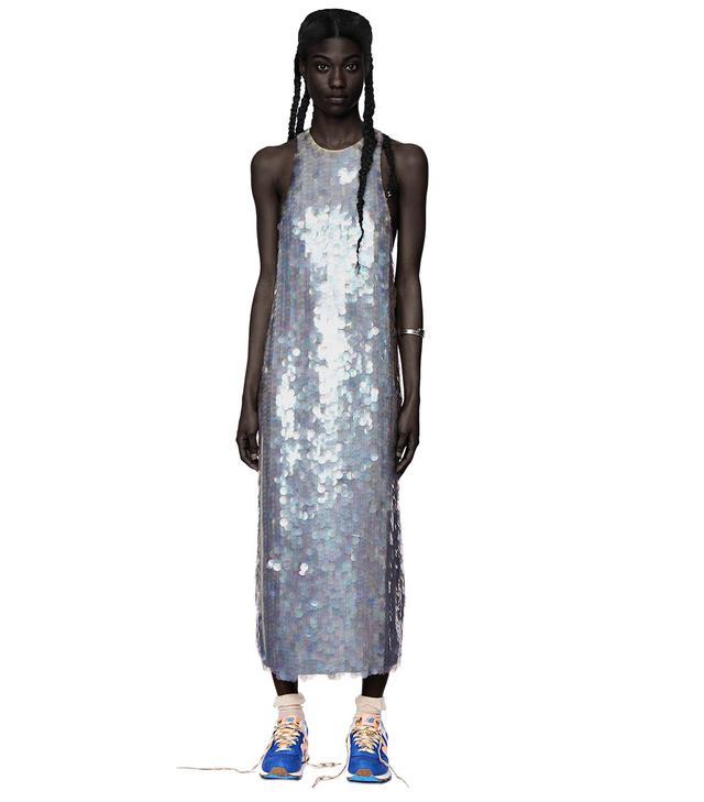 Omondi Sleeveless Scales Dress