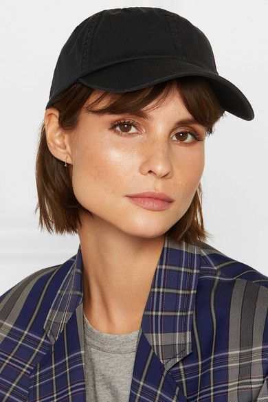Carliy Embroidered Canvas Cap