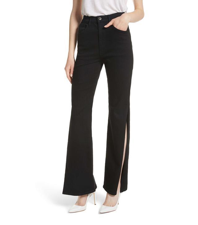 3x1 W4 Adeline High Waist Split Flare Jeans