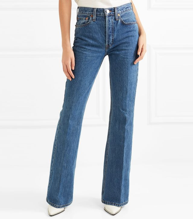 High Break Flared Jeans