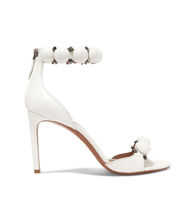 Alaia Bombe Studded Leather Sandals